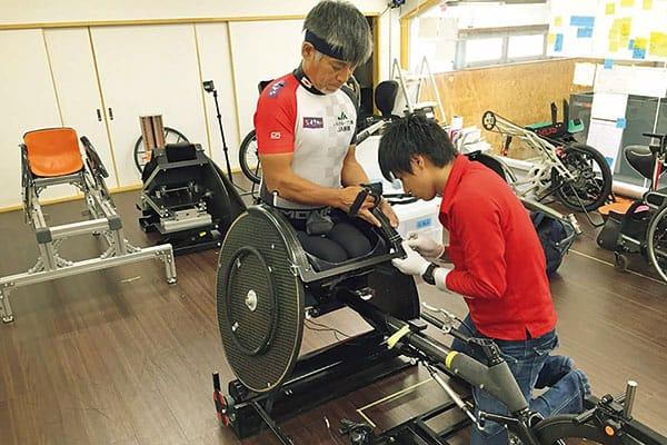 画像3/6)伝説の車いすランナー56歳「東京パラ五輪で、金メダルを ...
