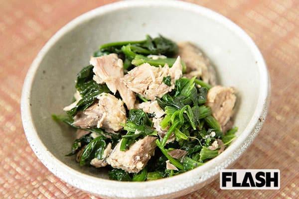 コンビニ飯で野菜を「ベジ増しレシピ」サバ野菜
