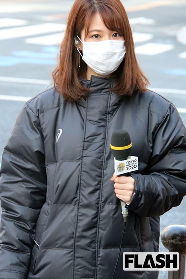 東京マラソンで発見!マスク姿のフジ鈴木唯&井上清華アナ