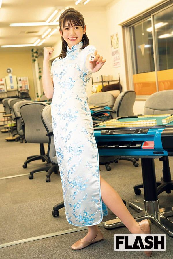 武田雛歩「プロ雀士になりたいです!」麻雀猛勉強に密着
