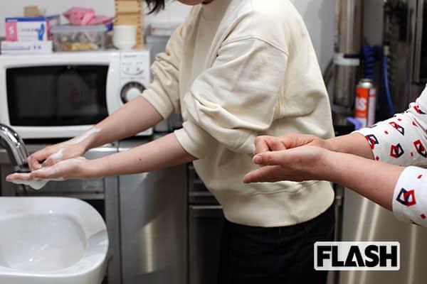 新型肺炎の感染予防に…「正しい手洗い」をチェッカーで検証