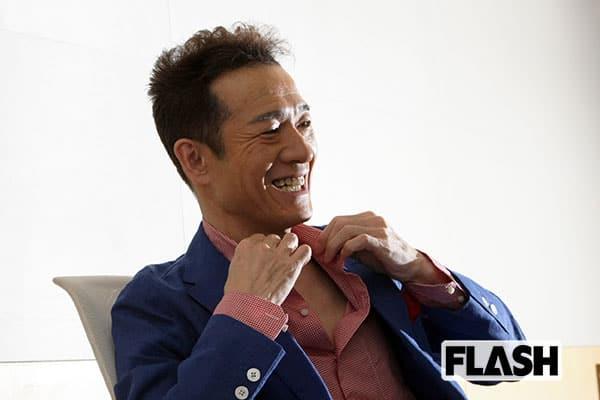 大沢樹生、先輩・田原俊彦に再会して「ピリッと良い緊張感」