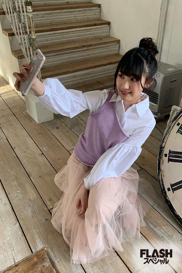 NMB48 Team BII 原かれん【オフショット】FLASHスペシャル グラビアBEST 2020年早春号