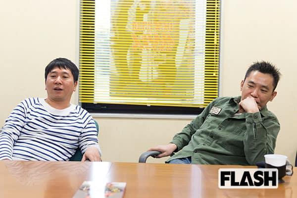 爆笑問題・田中が太田を心配「共演者にエアガン向けてバーン」
