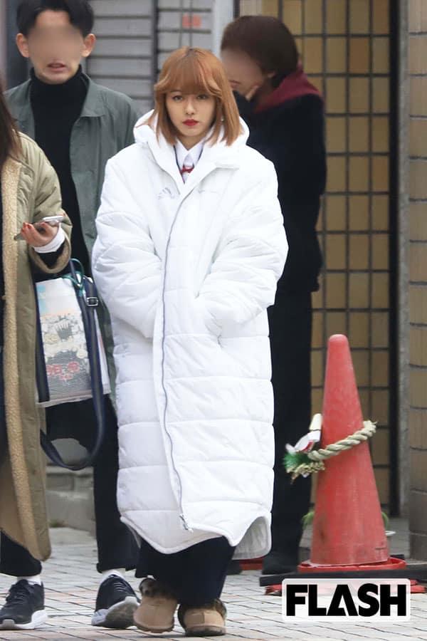 山本舞香、『今日俺』映画撮影で板についた「金髪ヤンキー姿」