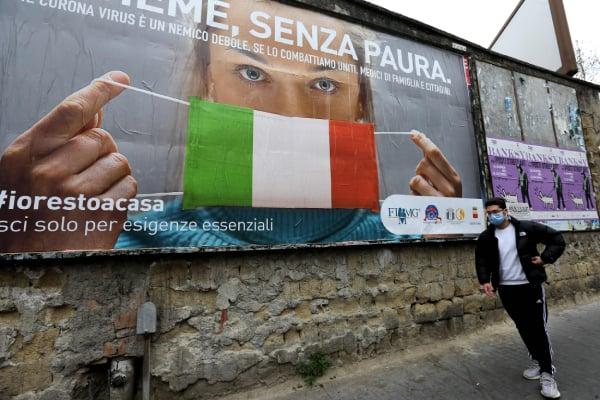 イタリア「移動禁止令」無視して摘発された人…ついに10万人超え