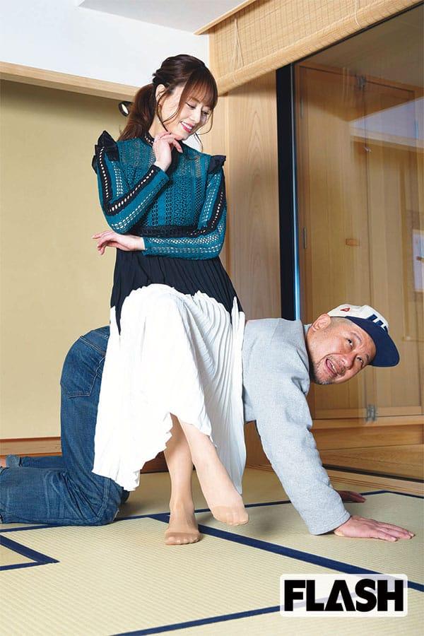 ケンドーコバヤシ、吉沢明歩に直訴「月1でボクの顔に乗って!」