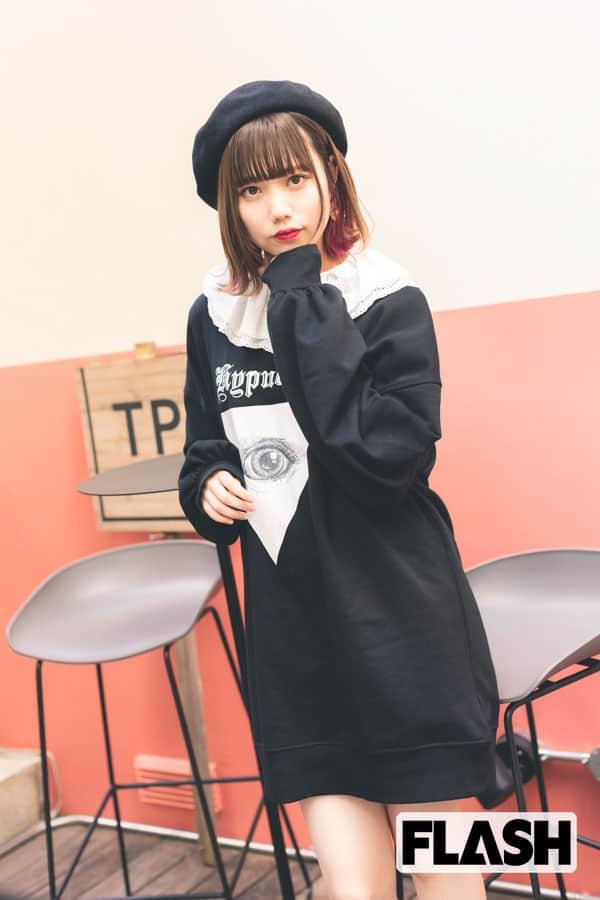 元AKB48 長久玲奈「色素が薄くてブラウンの瞳が自慢です!」