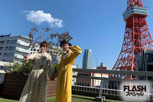 AKB48 Team 8 小栗有以&岡部 麟オフショット【AKB48 Team 8 6th Anniversary Book】
