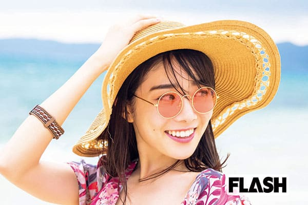 虹コン 鶴見萌、小学生以来の石垣島で「いっぱい食べました!」