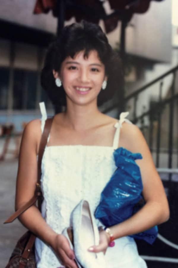 1985年の写真。レポーターとして、北海道から沖縄まで旅したのが思い出だという(写真・本人提供)