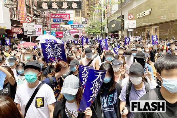 習近平、コロナ禍のドサクサに禁じ手で「香港併合」推進