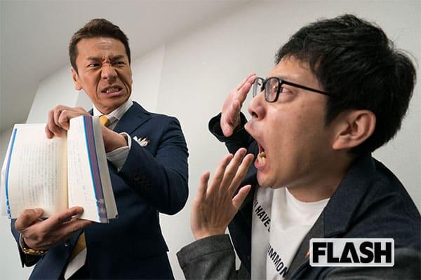 口を開けば全部ダメ…上田晋也が元運転手「浜ロン」に公開説教