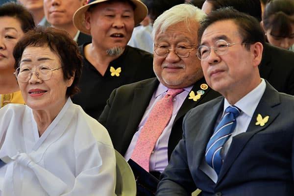 反日ソウル市長が遺体で発見…セクハラ告発を苦にした自殺説も