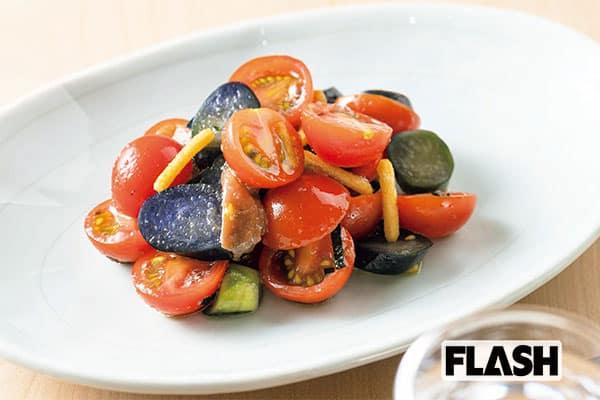 『家事ヤロウ!!!』料理芸人のコンビニおつまみ/さっぱり野菜サラダ