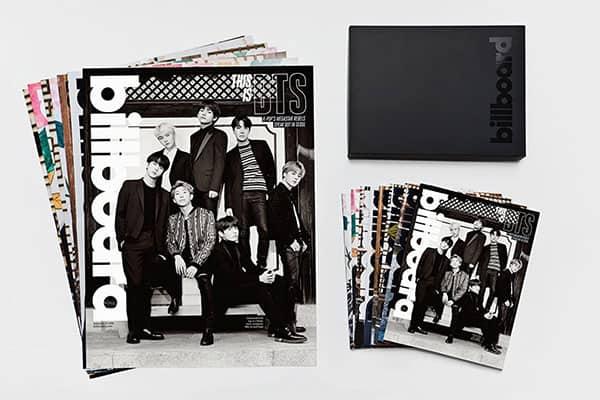 BTS、幻の「ビルボード8冊BOXセット」数量限定で日本発売決定!