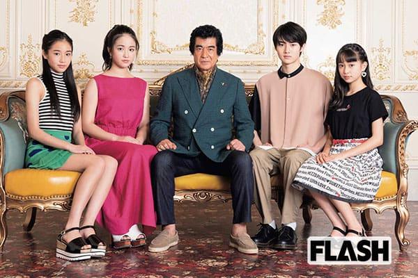 家ではゆるキャラ…全員芸能人の3女1男が明かす父「藤岡弘、」