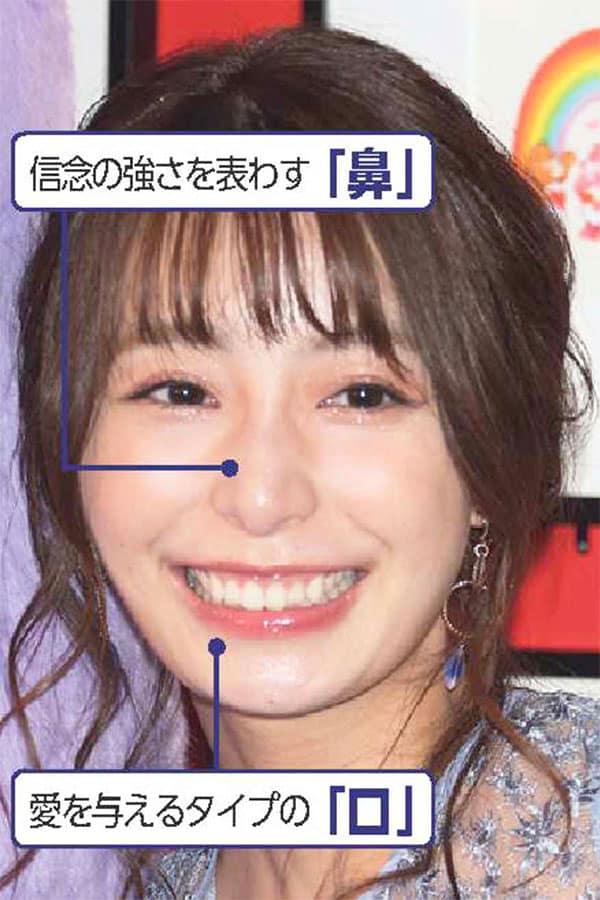 人気女子アナ「人相診断」フリー・宇垣美里
