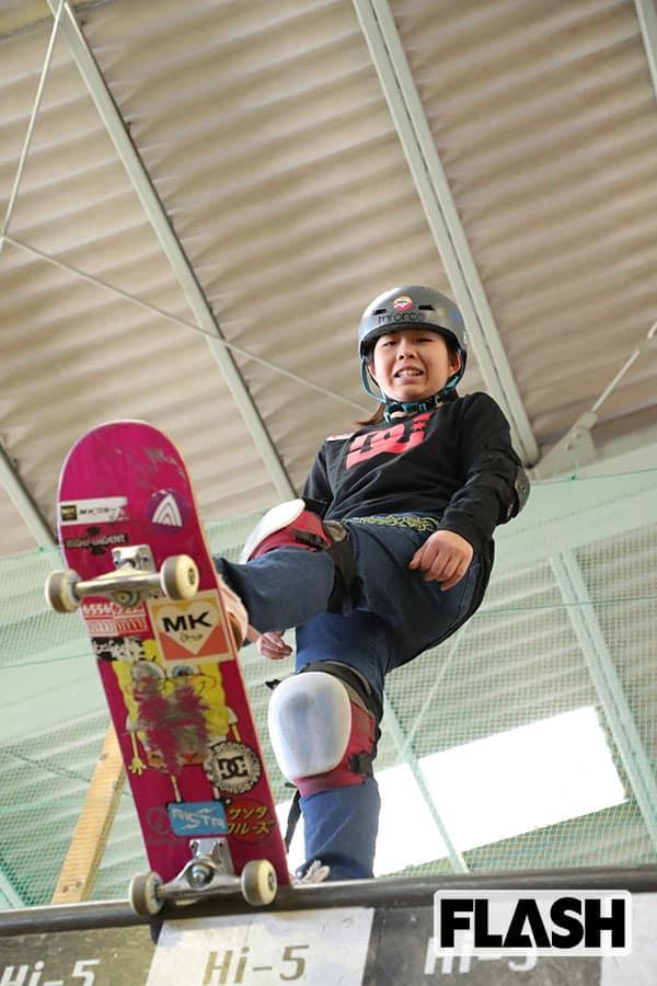 待ってろ東京五輪/スケートボード「岡本碧優」世界女王の挑戦