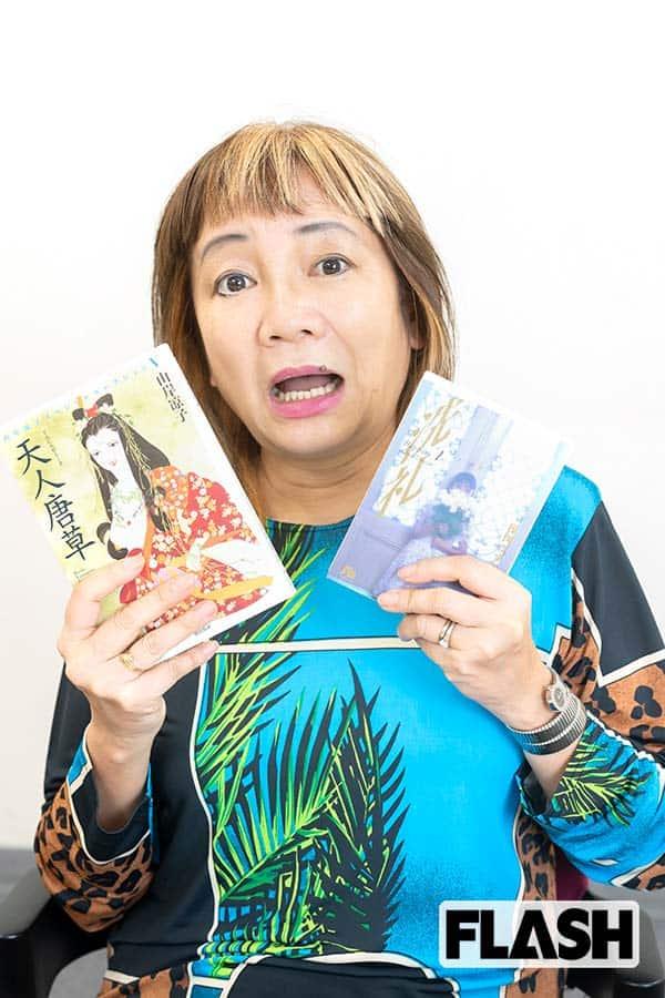 岩井志麻子が推す「恐怖マンガ5作」ホラーは、よく当たる占い師