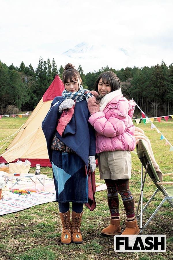 FLASH1547号「福原遥×大原優乃『二人なら極寒ロケもほっこり!』」