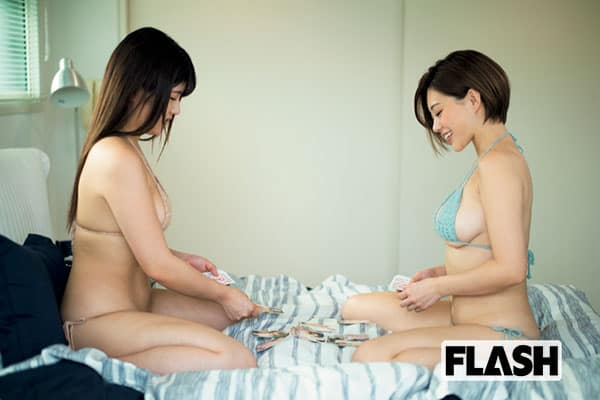 FLASH1543号「令和の乳神様4姉妹『おっぱいトランプ』」