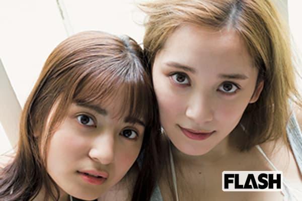 都丸紗也華&亜華梨、姉妹の野望「次はイケメンのパパと…」