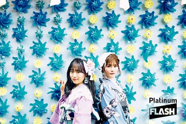 AKB48坂口渚沙、込山榛香 2人で語る「互いのギャップ」