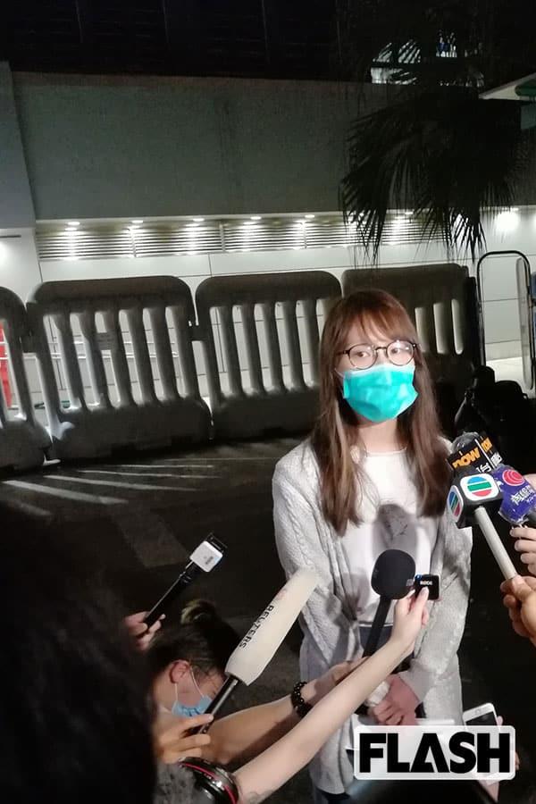 周庭さんが警告「無料PCR検査で香港市民の個人情報が盗まれる」