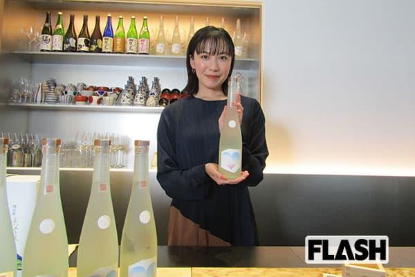 村川絵梨、朝ドラ主演から15年…酒豪が高じて日本酒をプロデュース