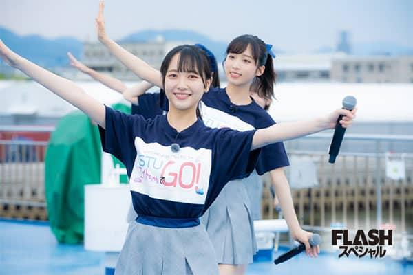 STU48×AKB48チーム8 オフショット後編【FLASHスペシャル グラビアBEST 2020年秋号】
