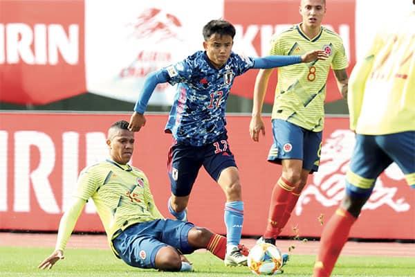 サッカー日本代表「市場価値ランキング」総額で対戦相手3人分