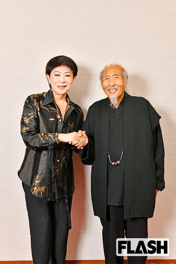 美川憲一、どん底から救ってくれた仏師と再会「龍神様のお導き」