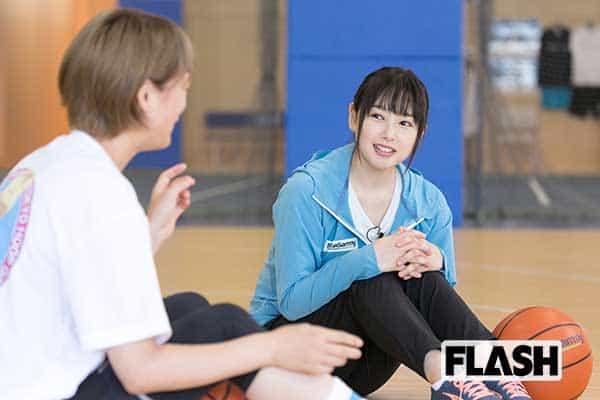 桜井日奈子、バスケ歴13年…ポジションはずっと「宮城リョータと同じ」