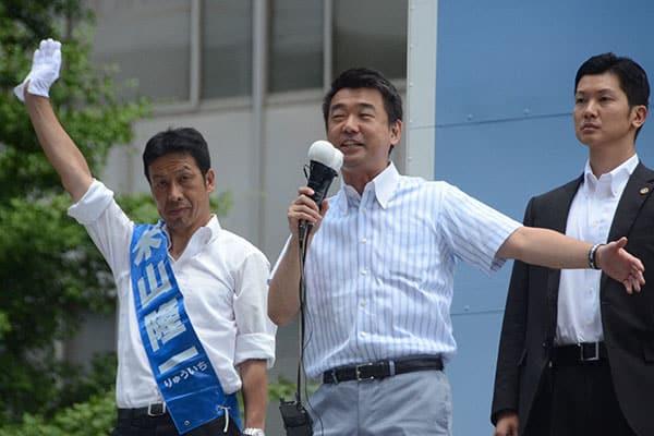 米山隆一氏が維新&大阪都構想に疑問「橋下徹氏はネトウヨ支持者に囲まれて満足なのか」