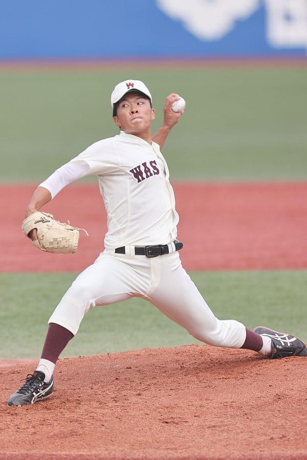 ドラフトで楽天へ…早大・早川隆久に小宮山悟監督が「プロをなめるなよ」