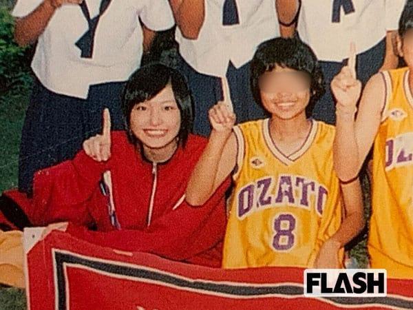 中学時代は、女子バスケットボール部のマネージャーを務めていた