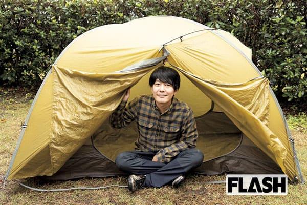 うしろシティ阿諏訪がお試し「最新キャンプ道具」広くて強いテント