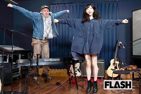 AKB48 小栗有以、野性爆弾くっきー!とオリジナルソングでセッション実現