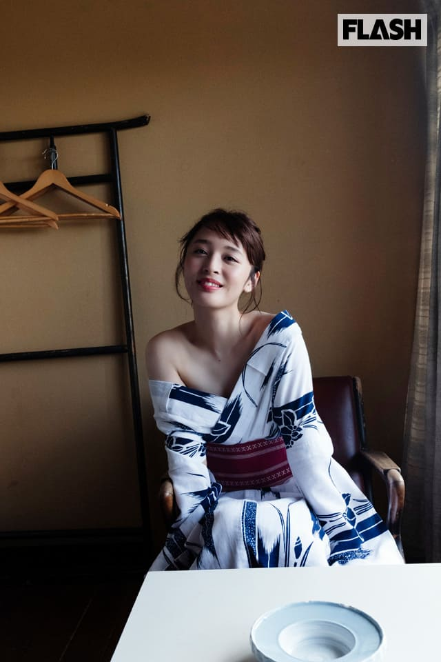 神部美咲が「お別れ旅行」をテーマに、浴衣セクシーに初挑戦!FLASHデジタル写真集発売!