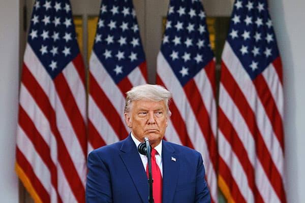 トランプ大統領、ホワイトハウスを出たら訴訟まみれの可能性