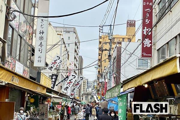 女子アナ横井弘海の「エンタメ時間」師走の築地市場ぶらり散歩