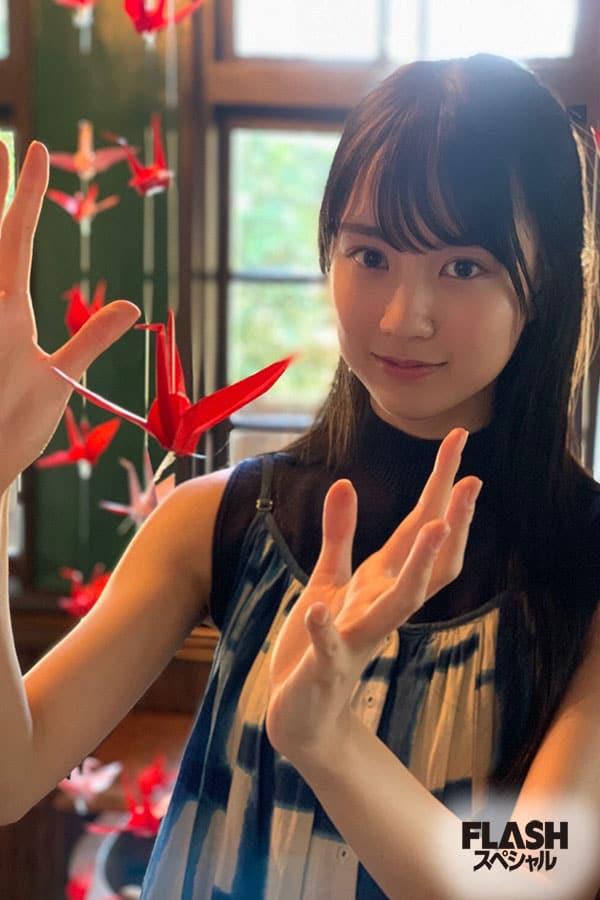 乃木坂46 賀喜遥香【オフショット】FLASHスペシャルグラビア2021年新年号