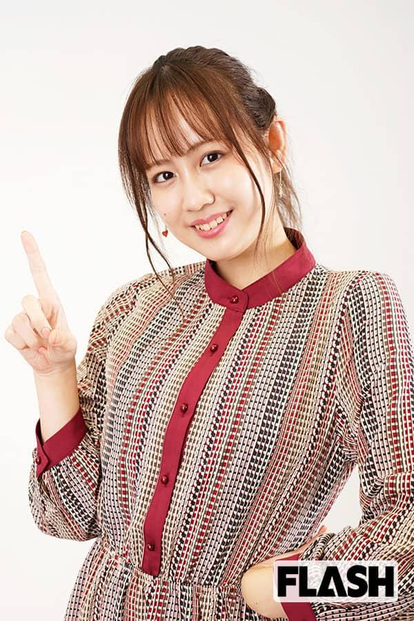 """NGT48 西村菜那子、""""駅伝マニア""""の大胆予言「箱根は明治が優勝します!」"""