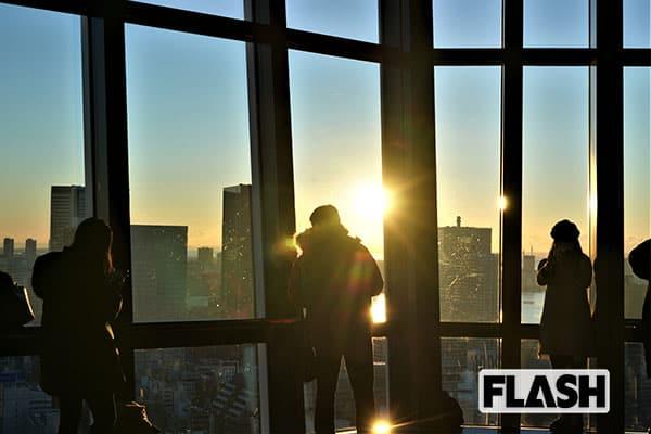 女子アナ横井弘海の『エンタメ時間』 初日の出は東京タワーで