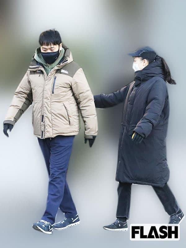 蒼井優&山里亮太「お仕事お疲れ様」元日デート撮…夫婦生活に変化アリ