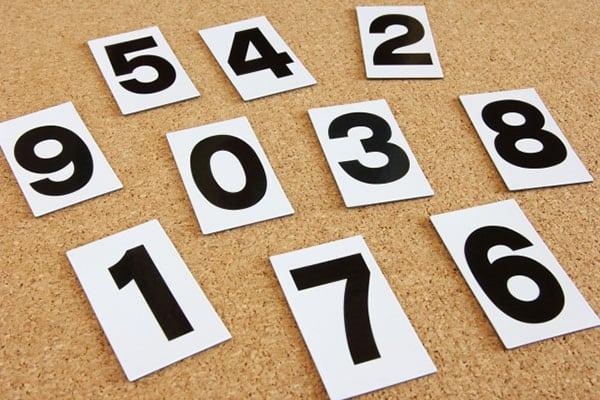 【頭の体操】上下反転させると2増える数字は?