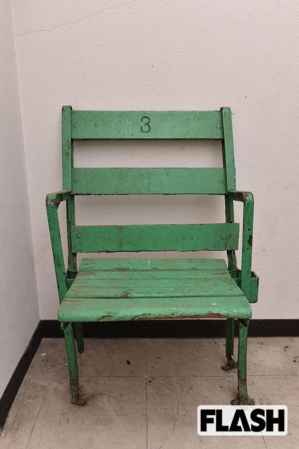 シカゴ・カブスの本拠地であるリグレーフィールド。2004年にシカゴ市から改修するように指示された。そのときに椅子も新調され、古いものは売りに出されたという。佐山氏はネットで購入(写真・谷本潤一)