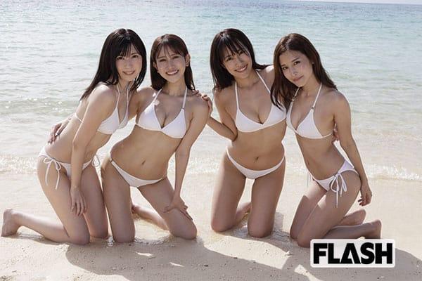 ミスFLASH2021が語った宮古島撮影の舞台裏【動画あり】