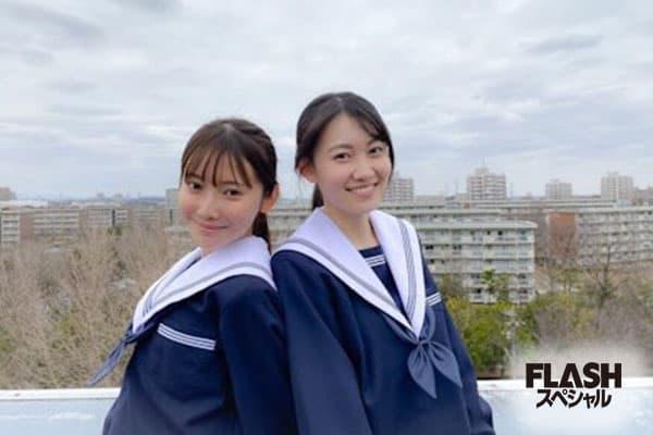 乃木坂46 黒見明香  松尾美佑【オフショット】FLASHスペシャルグラビアBEST 2021年春号